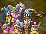 Cackletta takes the Koopalings