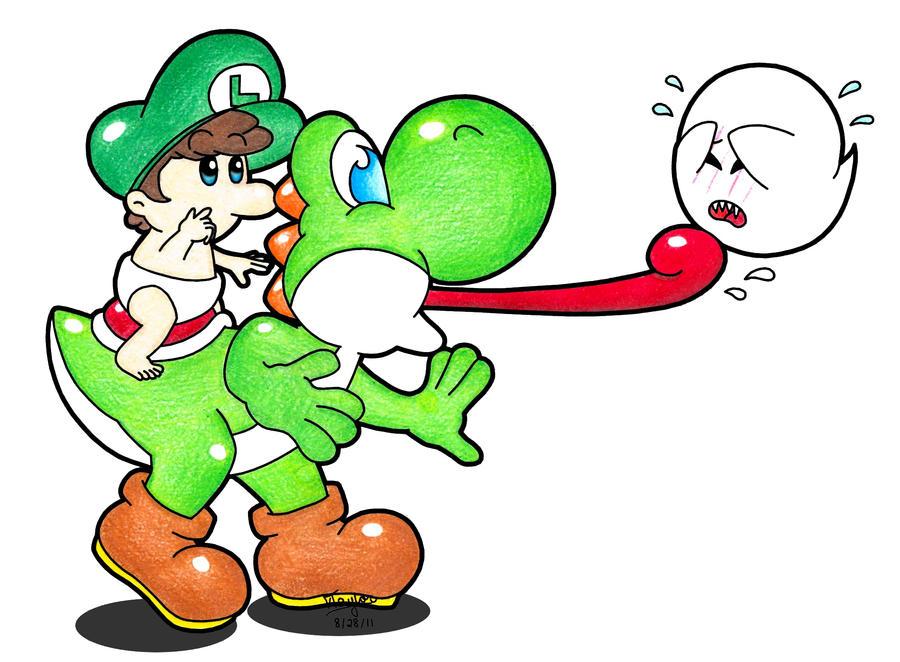 Eat it Yoshi by SilverxYoshi