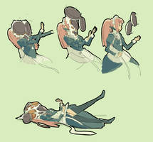Felicia gets pied by otototoi