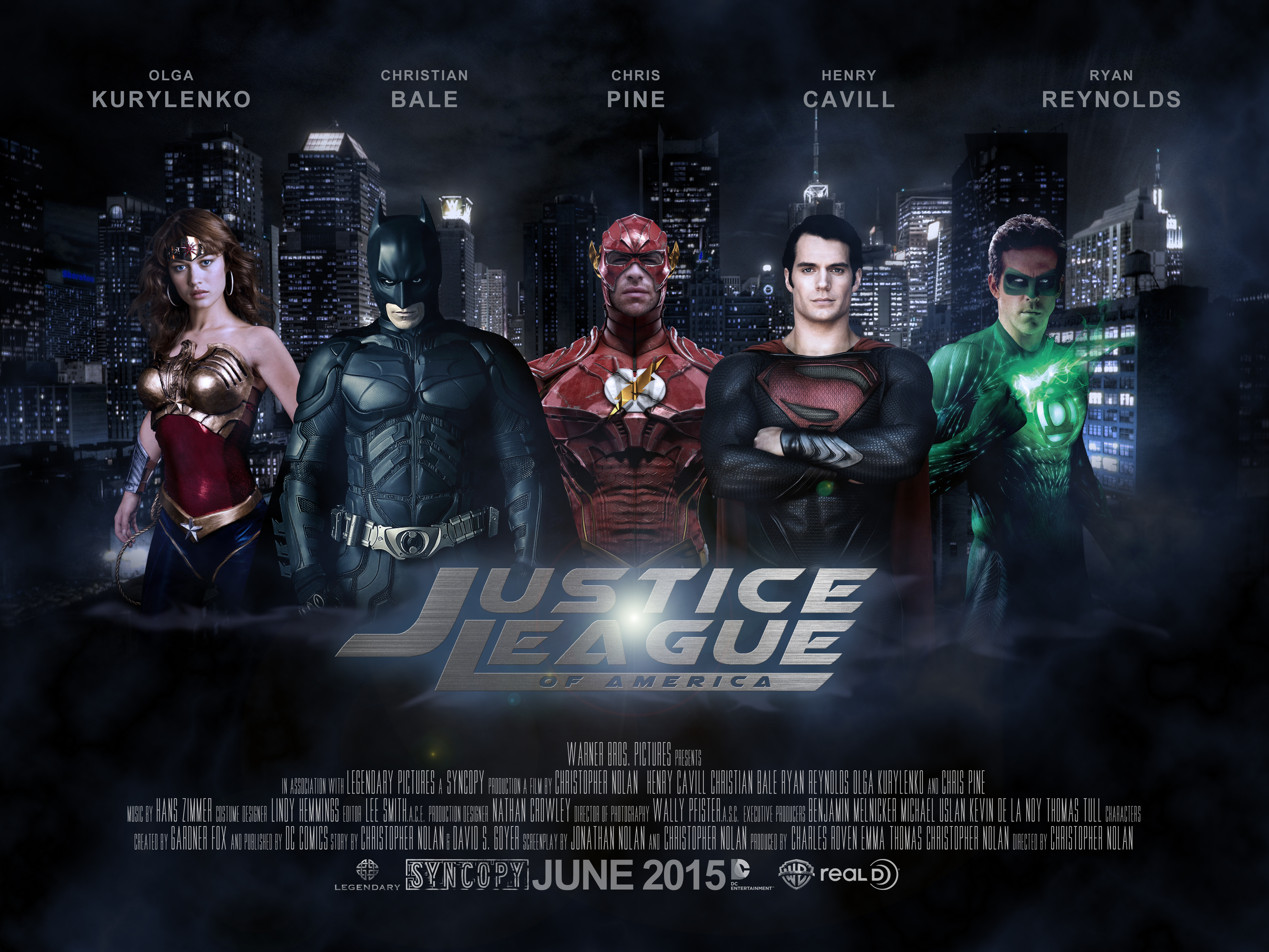 Justice League Movie Poster by edcoan on DeviantArt