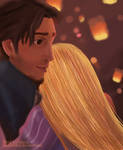 Tangled: A hug in the lights