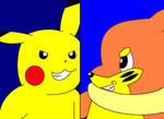 Pikachu vs. Buizel