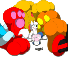 Its Footsie Time by Marquis2007