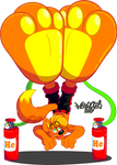 Helium Paw Pump