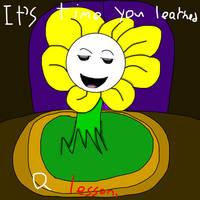 Open Up Your Eyes UT Lyric Comic part 1