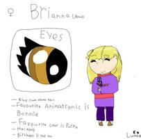 Human FNAF OC: Brianna