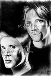 Winchester Brothers by verkoka