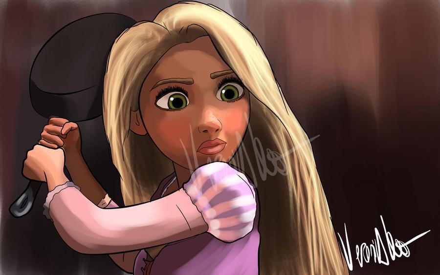 Rapunzel by verkoka