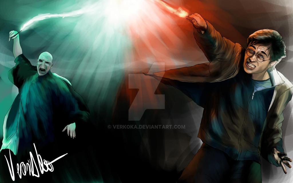 Harry Potter by verkoka
