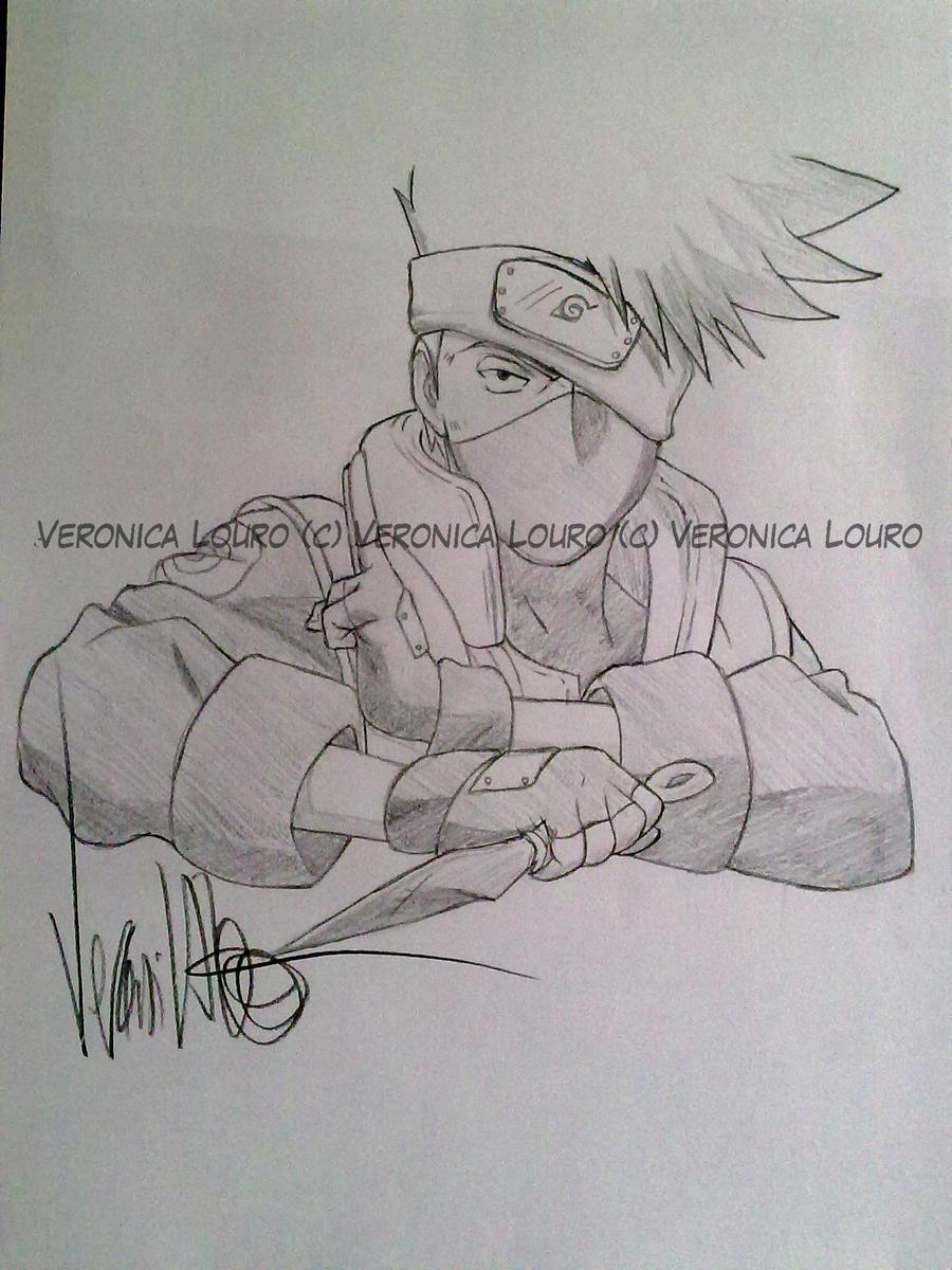 Kakashi - Naruto by verkoka