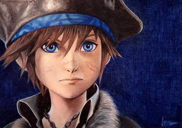 Sora - Kingdom Hearts 3 by verkoka