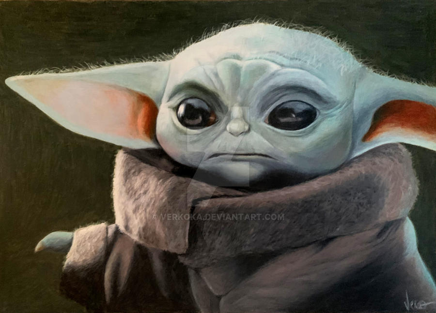 Baby Yoda - The Child from Mandalorian