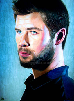 Chris Hemsworth Pencil drawing