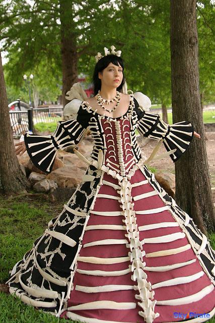 Bone dress- Bizenghast by Athena1chan