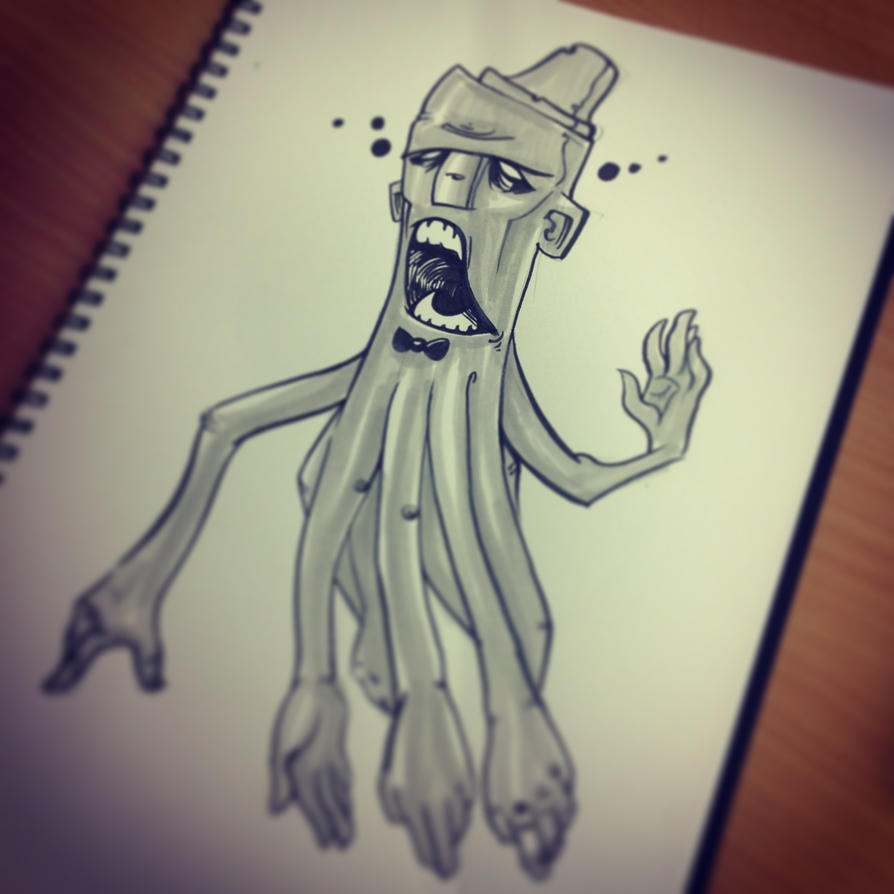 Octopus Guy by Honesty-Art-Fashion
