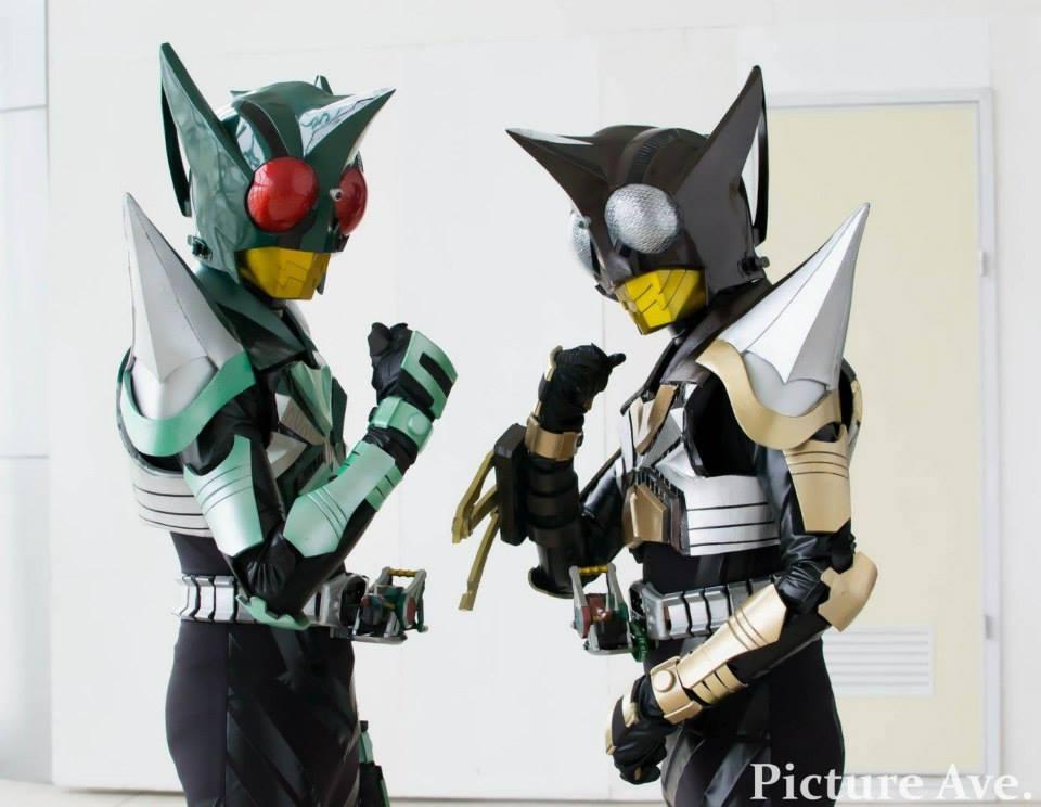 Kamen Rider Kick And Punch Hopper By Zecteredd On DeviantArt