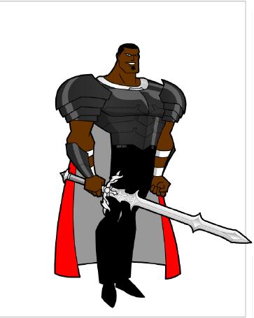 Darrius Wrath using Hero Factory Animated by Kmon13