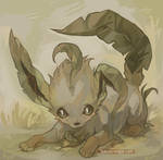 leafeon by teacosies