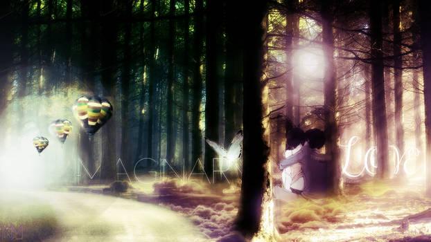 WALLPAPER Imaginary Love by kimel95