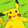 Pikachu pixel icon