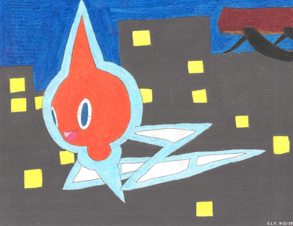 Rotom About Town by SummerShe-Wolf