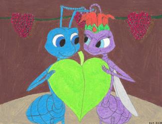 Little Bugs, Big Heart by SummerShe-Wolf