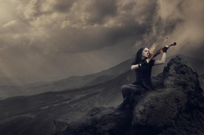 Sad violin by SnowBallet on DeviantArt