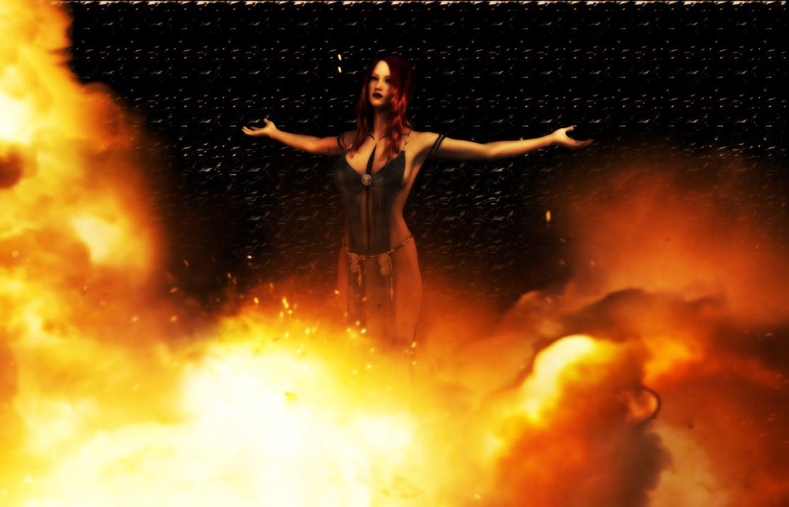 Firegirl by angelknight36