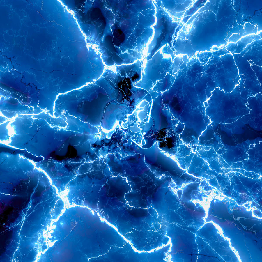 Lightning Marble 11.111 by robostimpy