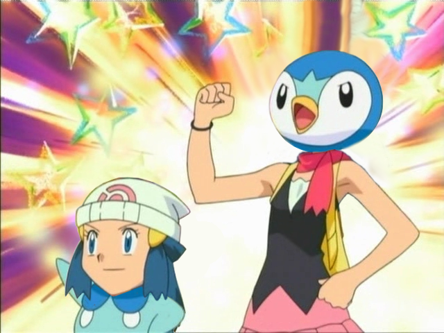Dawn And Piplup Head Swap \SwappyShira By SwappyShira On