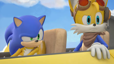 Sonic and Tails Head Swap overhead!