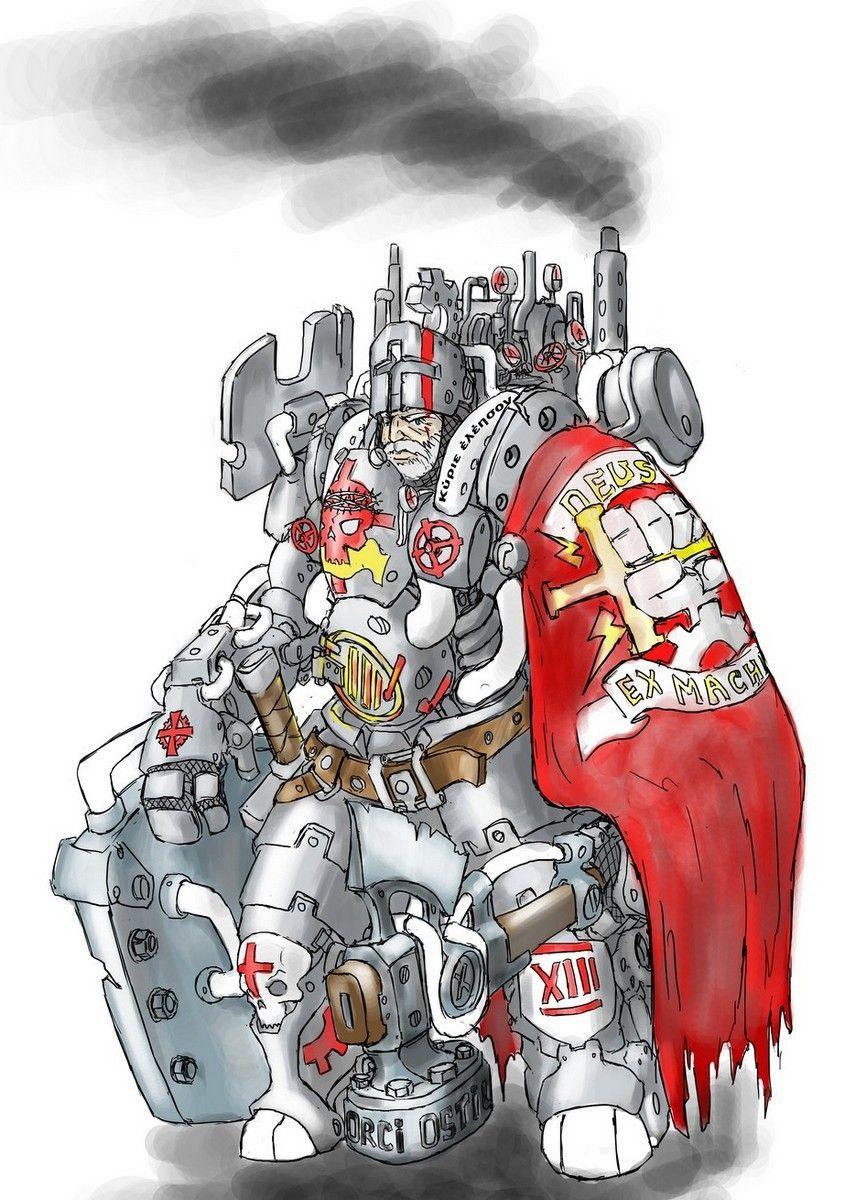 Steam-Knight by TugoDoomER