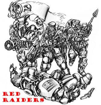 Red Raiders by TugoDoomER