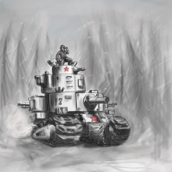 The heavy tank assault T31 by TugoDoomER