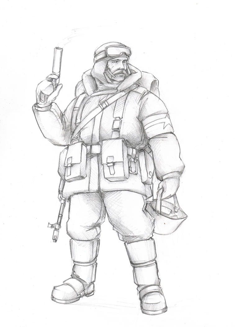 The polar explorer by TugoDoomER