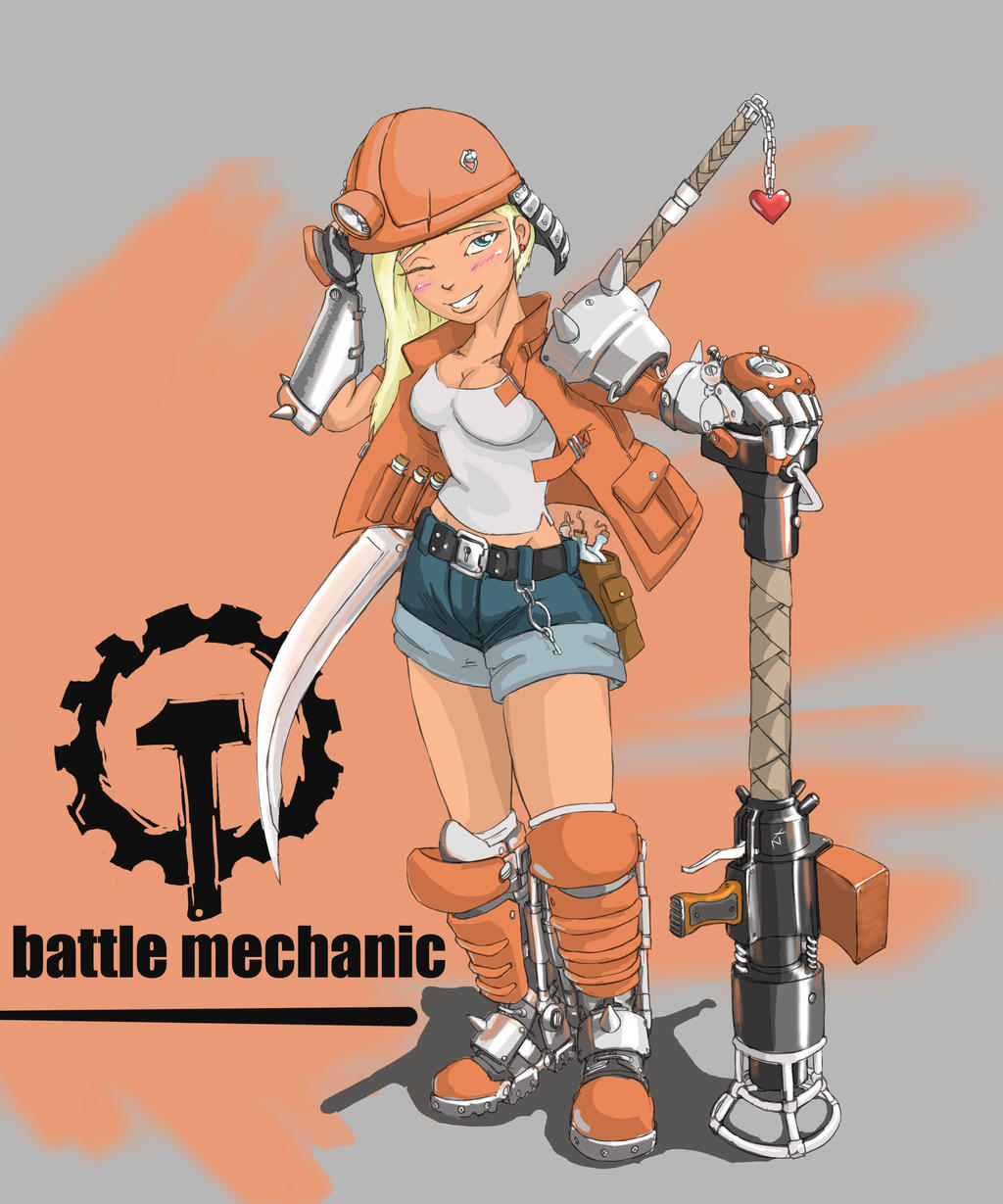 mechanic by TugoDoomER