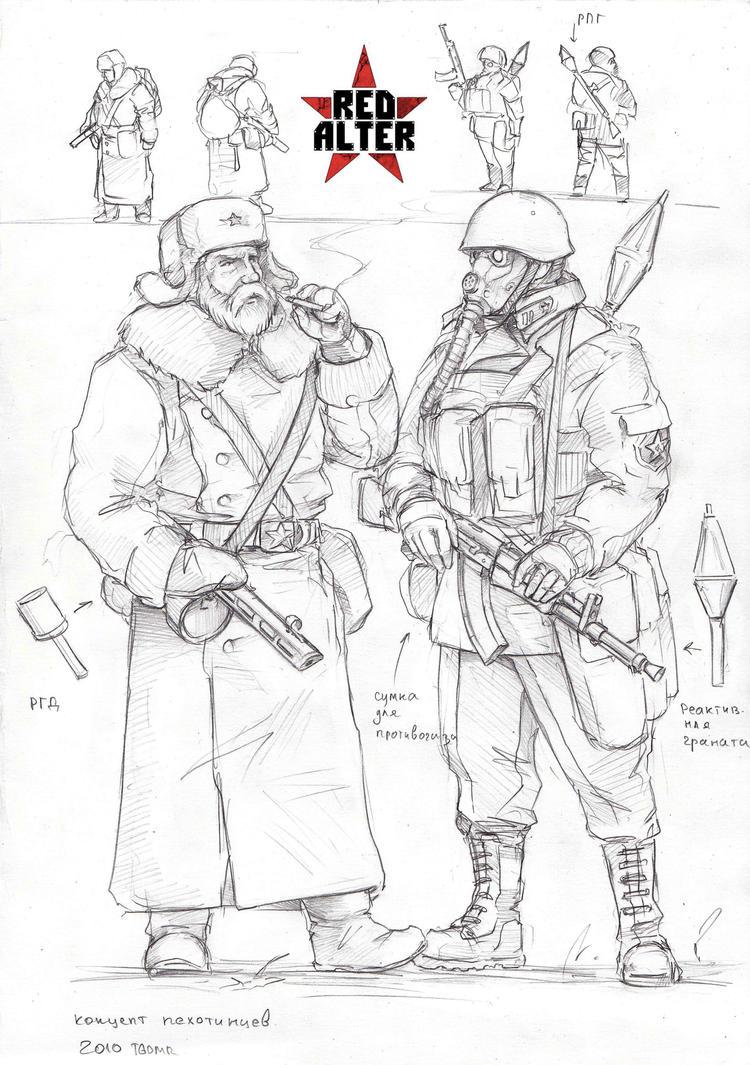 Conscripts by TugoDoomER