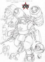 heavy soviet marine v2 by TugoDoomER