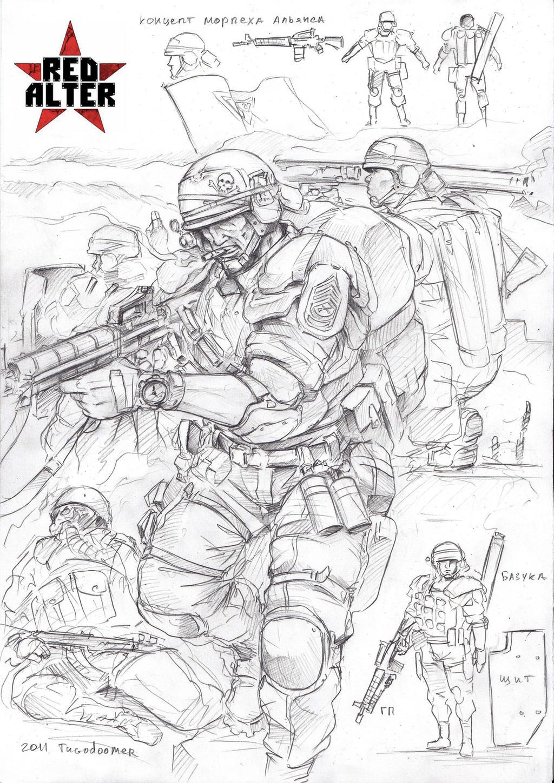 alliance marine by TugoDoomER