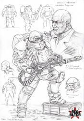 Colonel Burton by TugoDoomER