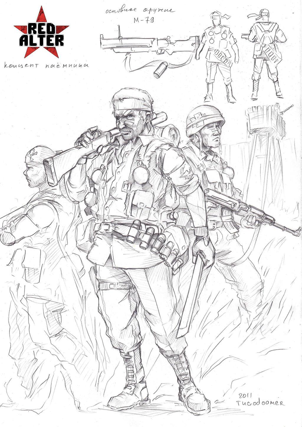 Mercenaries by TugoDoomER