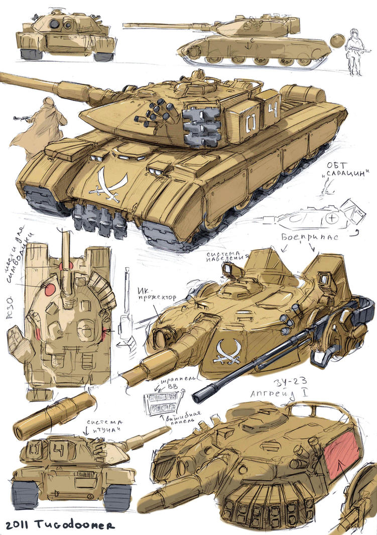 MBT Saracen by TugoDoomER