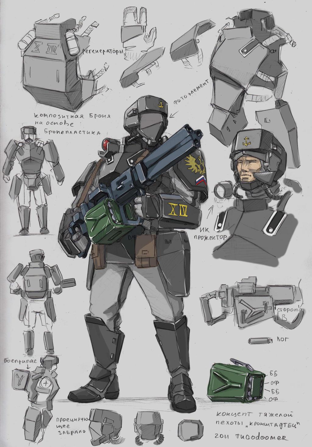 Kronshtadt's guardsman by TugoDoomER