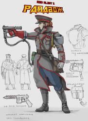 Soviet commissar for Paradox by TugoDoomER