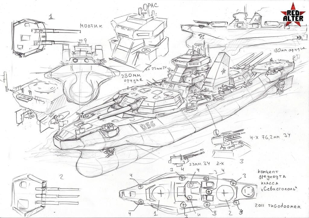 dreadnought Sevastopol by TugoDoomER
