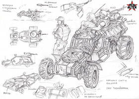 Recon buggy Hound by TugoDoomER