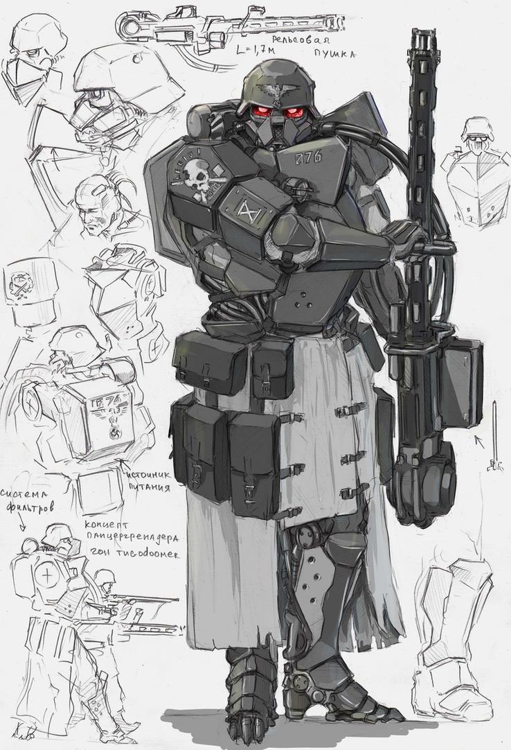 Panzergrenadier by TugoDoomER