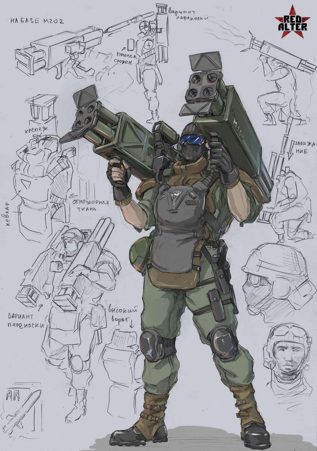 Rocket defender by TugoDoomER