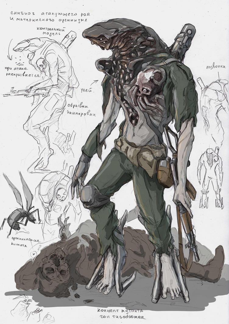swarm symbiot by TugoDoomER