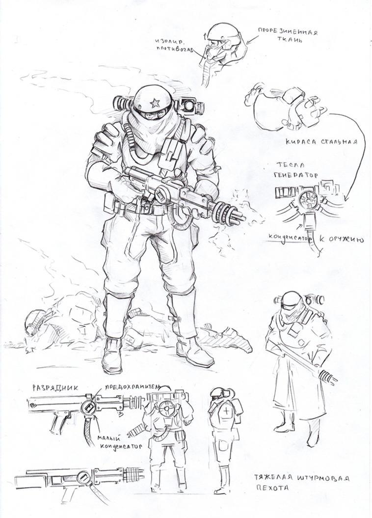 heavy infantry by TugoDoomER